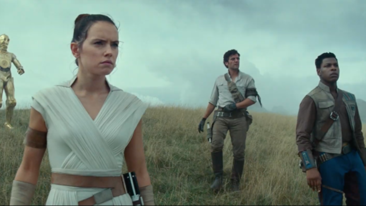 New Star Wars The Rise Of Skywalker Footage At D23 Expo Los Angeles Times