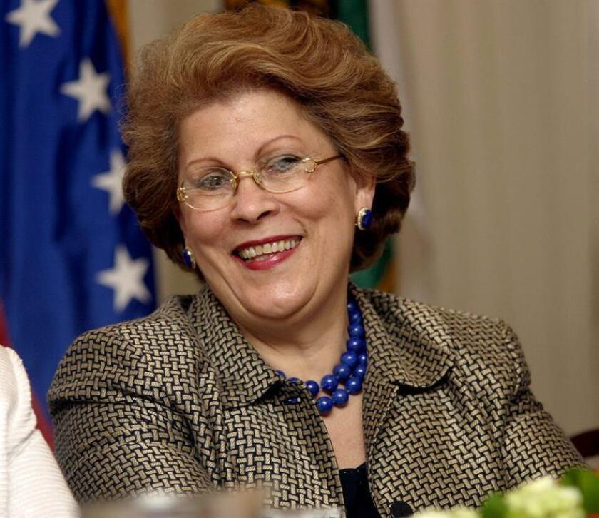 La comisionada de Salud del estado de Nueva York, Antonia Coello Novello. EFE/Archivo