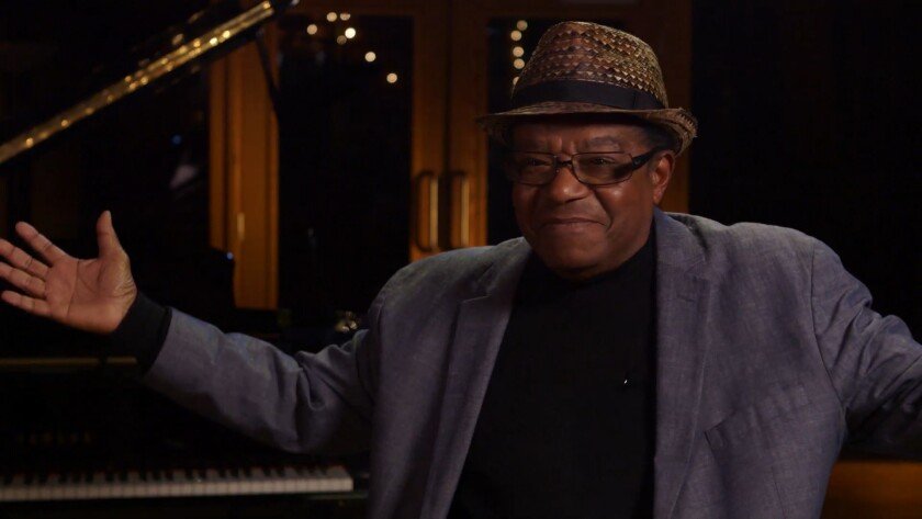 Little Anthony (Gourdine) in the documentary 'Streetlight Harmonies'