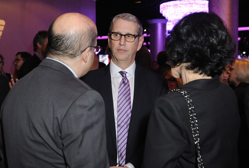 Viacom's Doug Herzog at an event at the Beverly Hilton Hotel last year. Herzog will now oversee MTV, VH-1 and Logo channels in addition to two popular networks that he already runs: Comedy Central and Spike.
