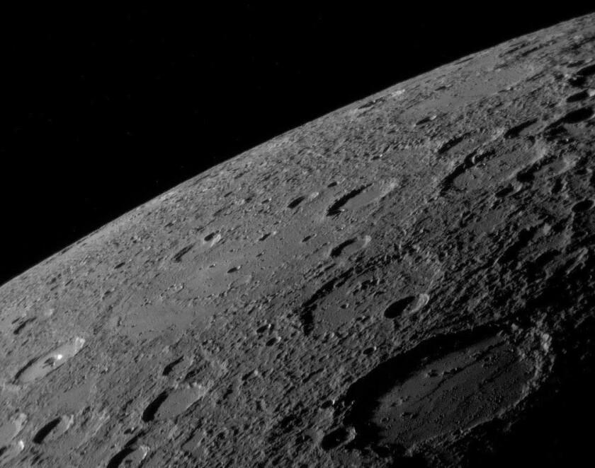 Mercury, NASA's MESSENGER spacecraft