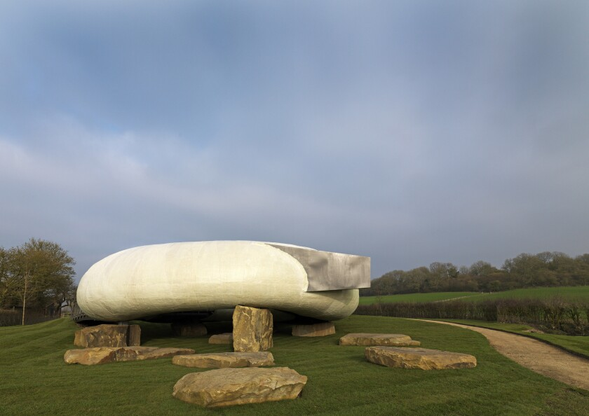 Smiljan Radic's pavilion at Hauser & Wirth Somerset
