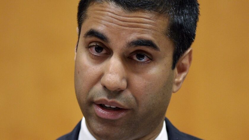 "FCC chief Ajit Pai, shown in 2013, said Friday that the approvals of nine companies to participate in the Lifeline program ""did not enjoy the support of the majority of commissioners."""