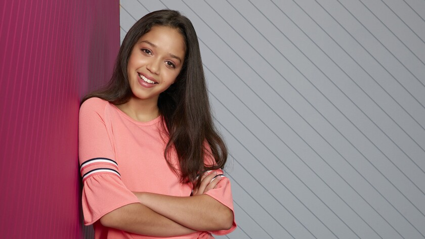 """Ruth Righi stars in the new cross-generational series """"Sydney to the Max"""" on Disney."""