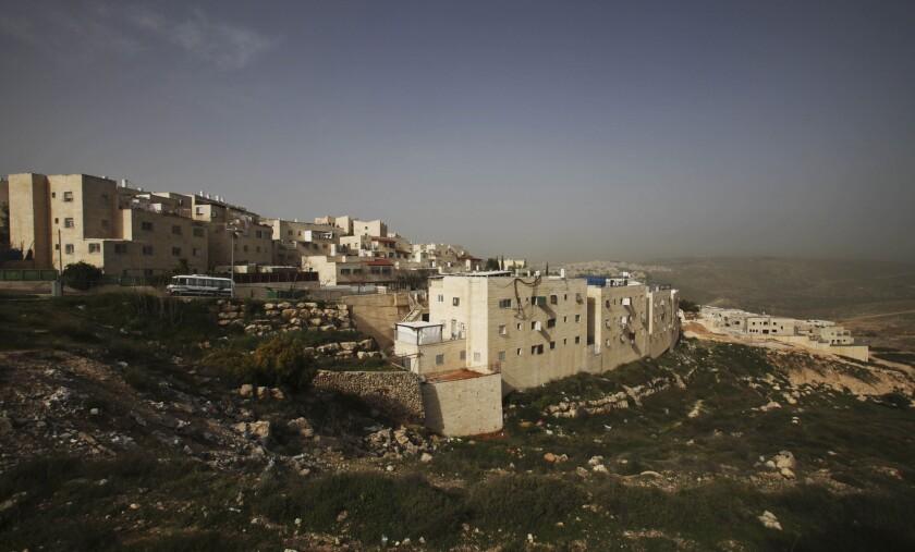 A view of the East Jerusalem neighborhood of Ramat Shlomo in 2010.