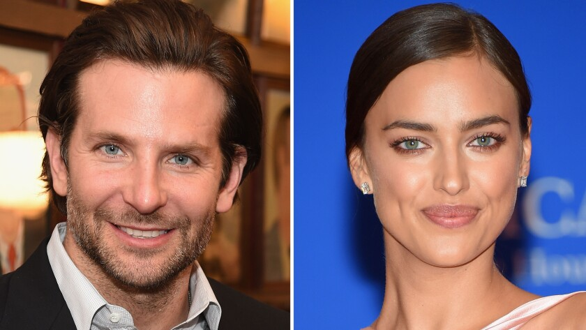 Bradley Cooper and model Irina Shayk are flaunting their PDA in New York and London.