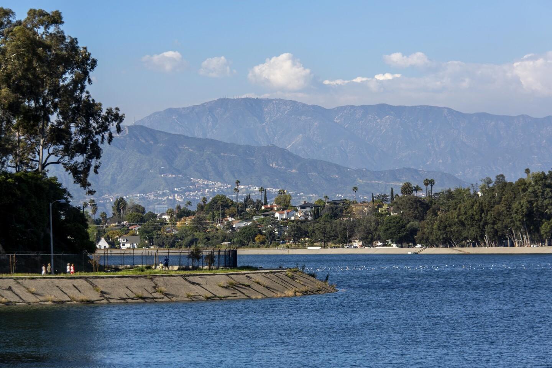 L.A. Walks to Silver Lake Reservoir