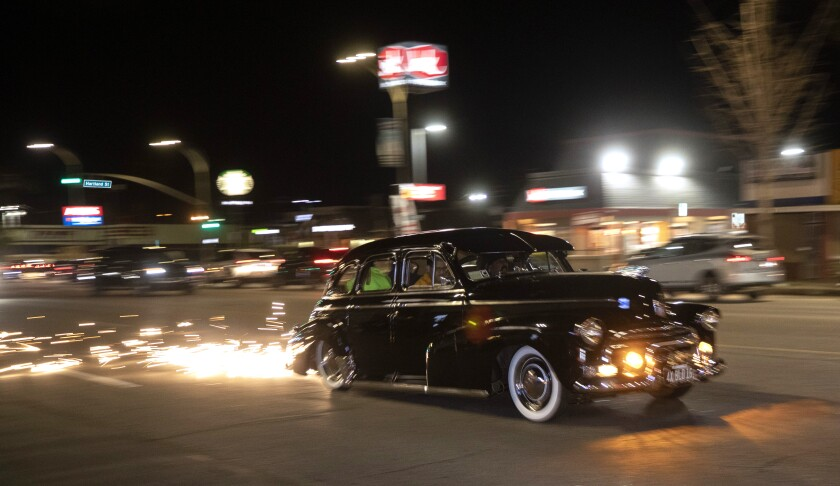 The lowrider is back: cruising the streets of LA