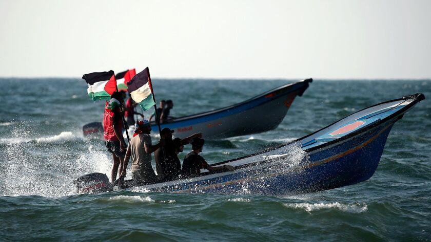 TOPSHOT-PALESTINIAN-ISRAEL-GAZA-UNREST