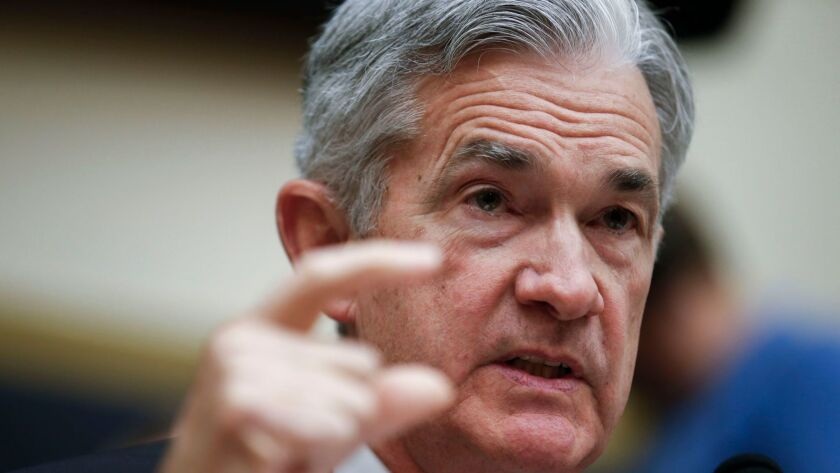 Federal Reserve Board Chairman Jerome Powell testifies during the House Financial Services Committee on hearing on ?Monetary Policy and the State of the Economy?, Washington, USA - 18 Jul 2018