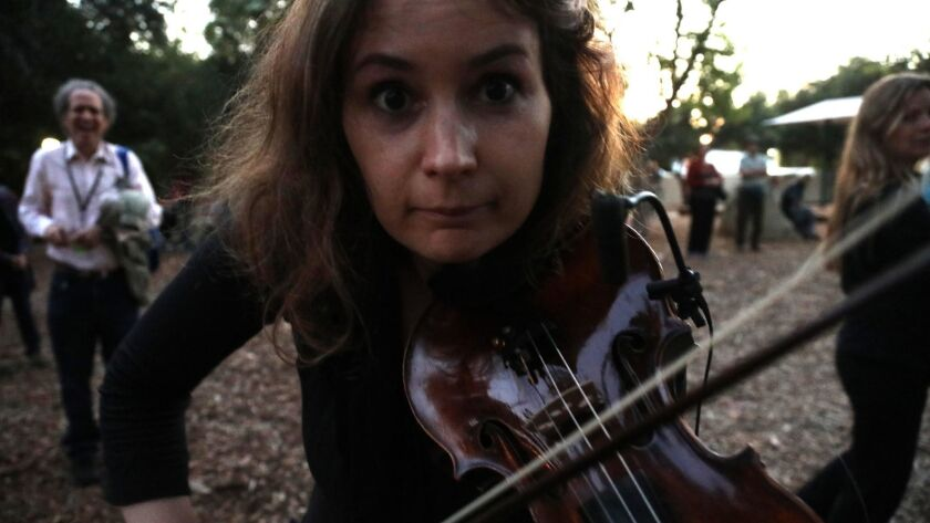 7:30-8:30pm |Libbey Park SONIC EMBRACE (Free Community Concert) Patricia Kopatchinskaja, violin | Scott Worthington, electronics LUIGI NONO: La lontanaza nostalgica utopica futura A dynamic duet between solo violin and spatial amplified sound transform
