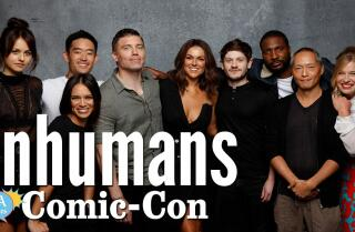 """Inhumans"" Cast Was Blown Away By The Comic-Con Panel Turnout"