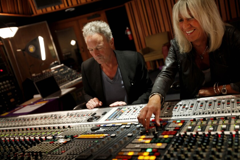 Lindsey Buckingham and Christine McVie of Fleetwood Mac are collaborating once again.