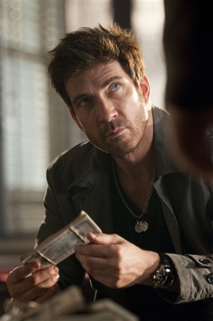 """In this image released by TNT, Dylan McDermott is shown in a scene from TNT's new undercover police drama, """"Dark Blue."""" (AP Photo/TNT, Richard Foreman)"""