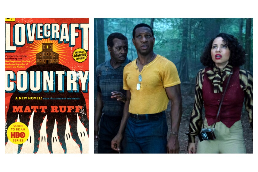 """Lovecraft Country"" spawned HBO show with Courtney B. Vance, left, Jonathan Majors, Jurnee Smollett."