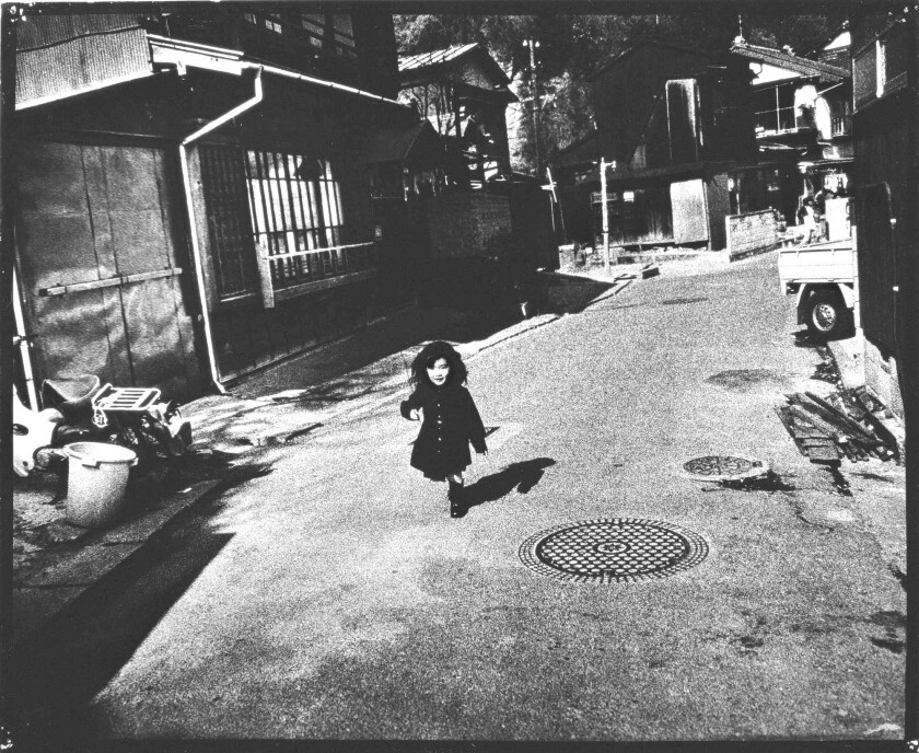 """Yokosuka Story No. 98,"" a 1976-1977 Gelatin silver print by Ishiuchi Miyako, is part of the ""Ishiuchi Miyako: Postwar Shadows"" show at the Getty Center."