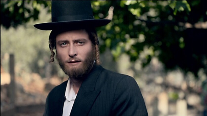 """Michael Aloni in """"Shtisel"""" on Netflix. The show is about the life of the Shtisel family, a haredi fa"""