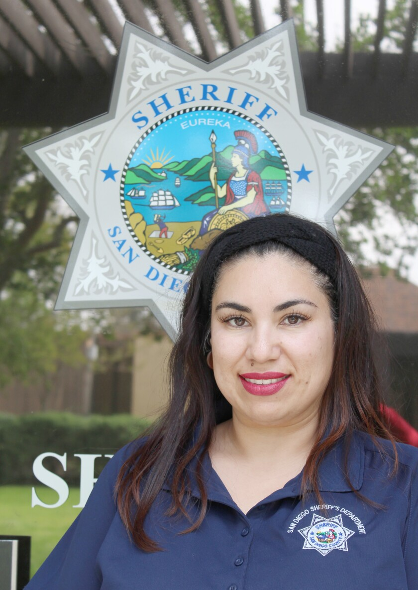 Crime Prevention Specialist Martha Gonzalez