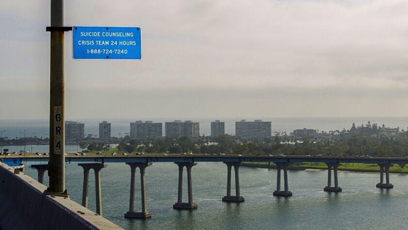 The San Diego-Coronado Bridge.