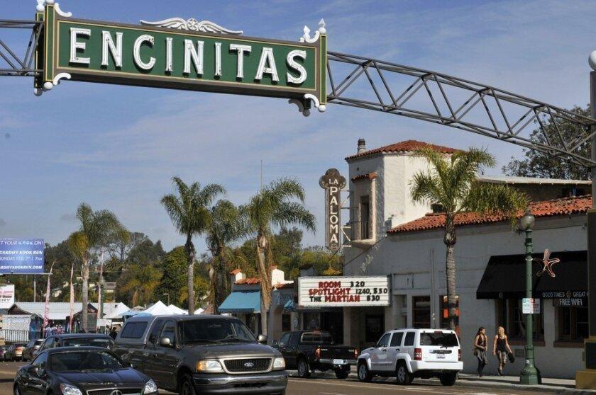 Encinitas 101 Main Street is spearheading a push to revamp the historic La Paloma Theatre.