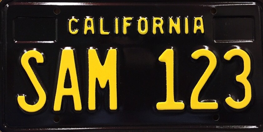 California's classic black license plates are back. The DMV will begin production of the iconic plates, which adorned California cars in the 1960s, thanks to legislation from Assemblyman Mike Gatto.