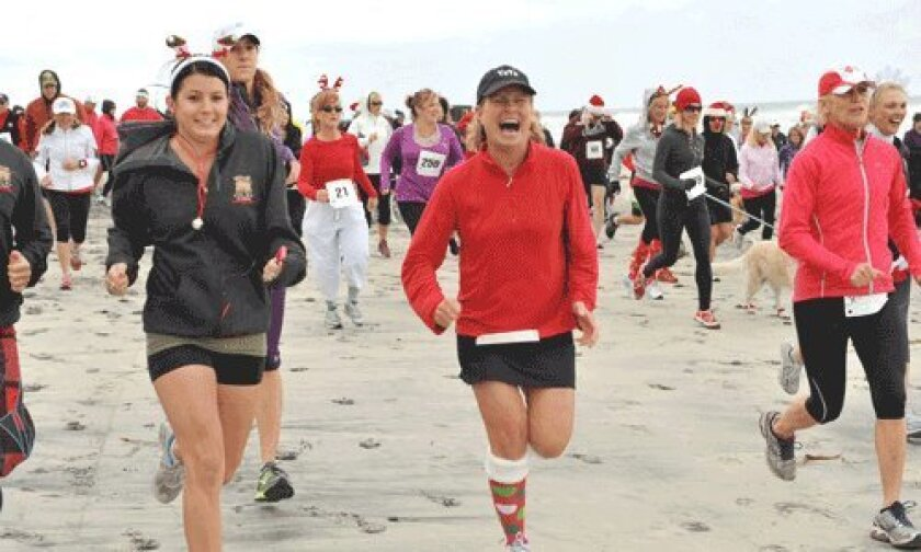 20th Annual Red Nose Run at Del Mar Beach
