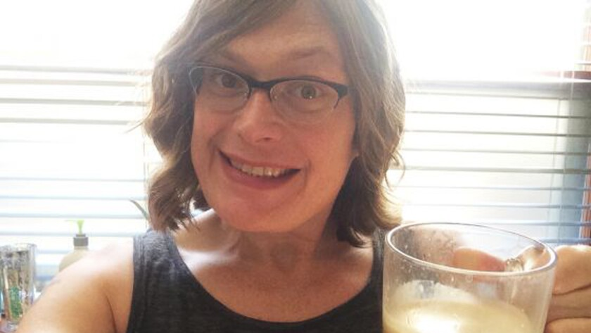 """A self-portrait of Lilly Wachowski, courtesy of Windy City Times. Wachowski, co-director of the """"Matrix"""" movies, has come out as transgender."""