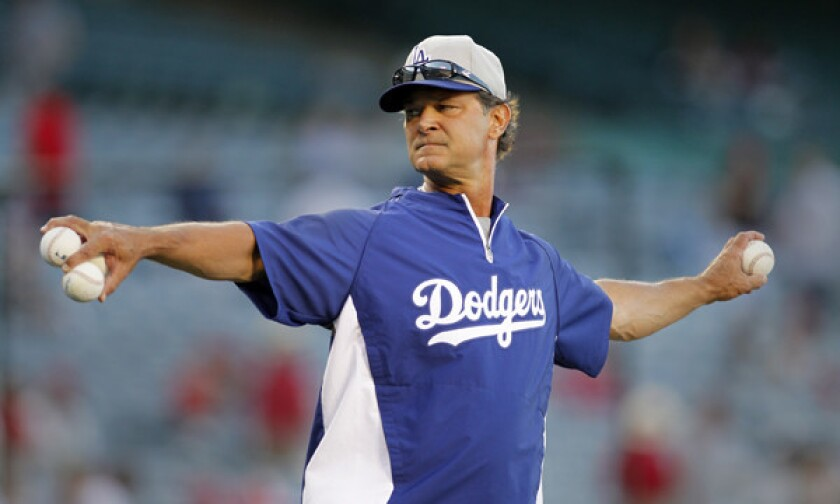 Don Mattingly wishes he hadn't spoken publicly about his contract status as Dodgers manager in October.