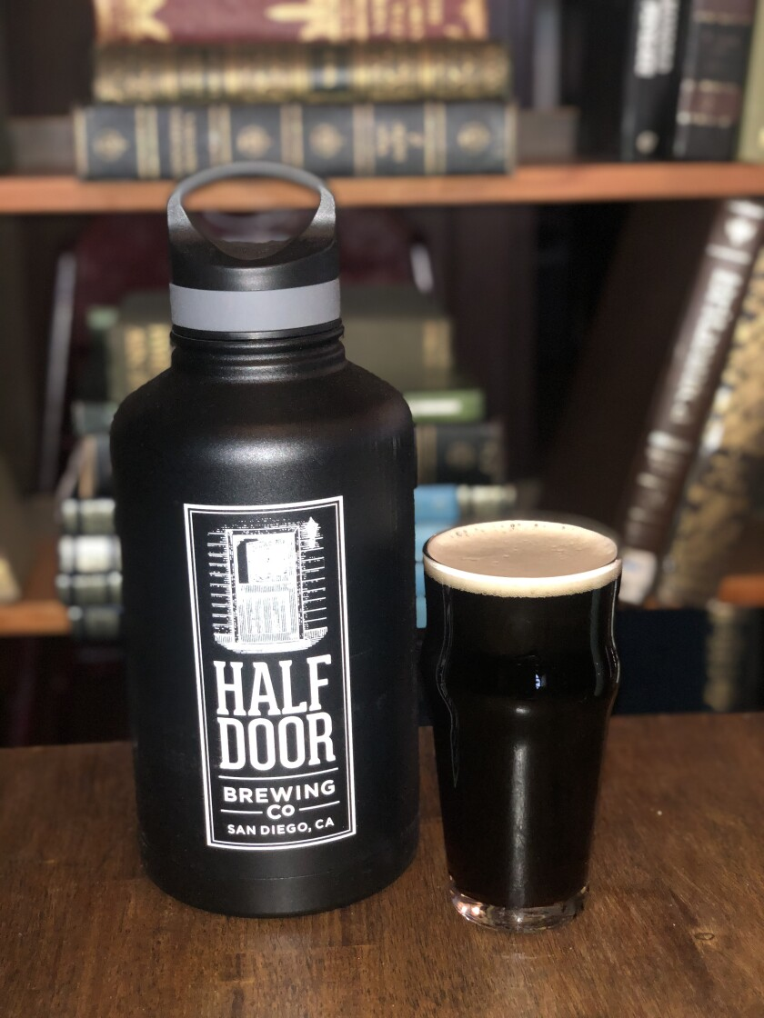 Never Seen the Light of Day Black IPA from Half Door Brewing Co.