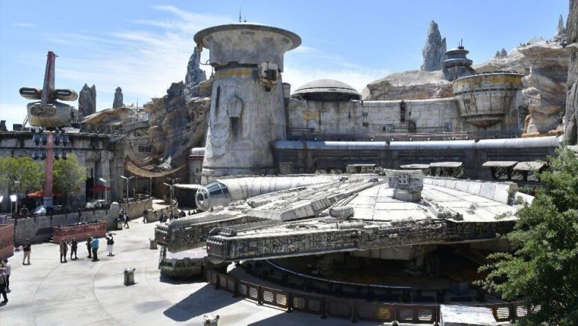 The only attraction operating when Star Wars: Galaxy's Edge opened at Disneyland on May 31 was Millennium Falcon: Smugglers Run.