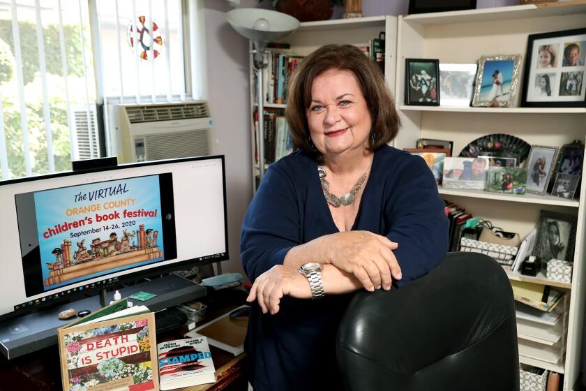 Pat Burns, Orange County Children's Book Festival co-founder,