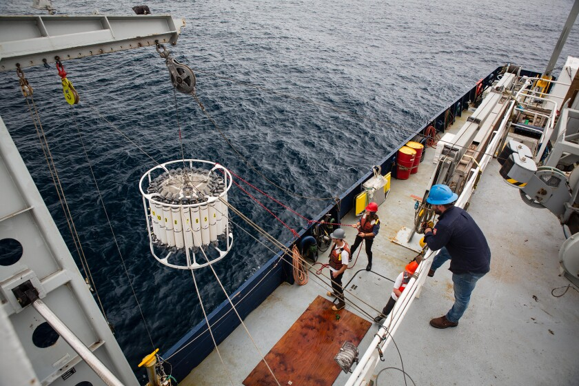 California Cooperative Oceanic Fisheries Investigation has gathered decades worth of data on the ocean's cycles