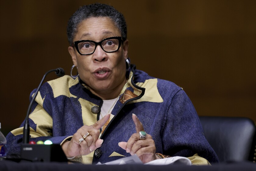 Housing and Urban Development Secretary Marcia Fudge