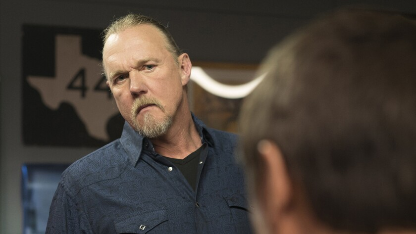 "Trace Adkins in ""The Night Shift"" on NBC."