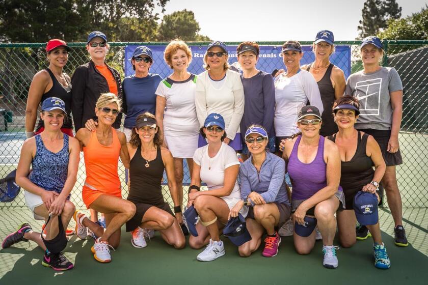The women's amateur participants in the Rancho Santa Fe Invitational.