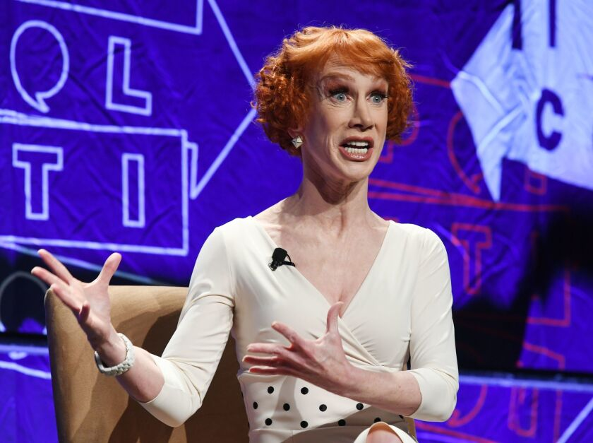 Comedian Kathy Griffin and Tomi Lahren are in a war of words.
