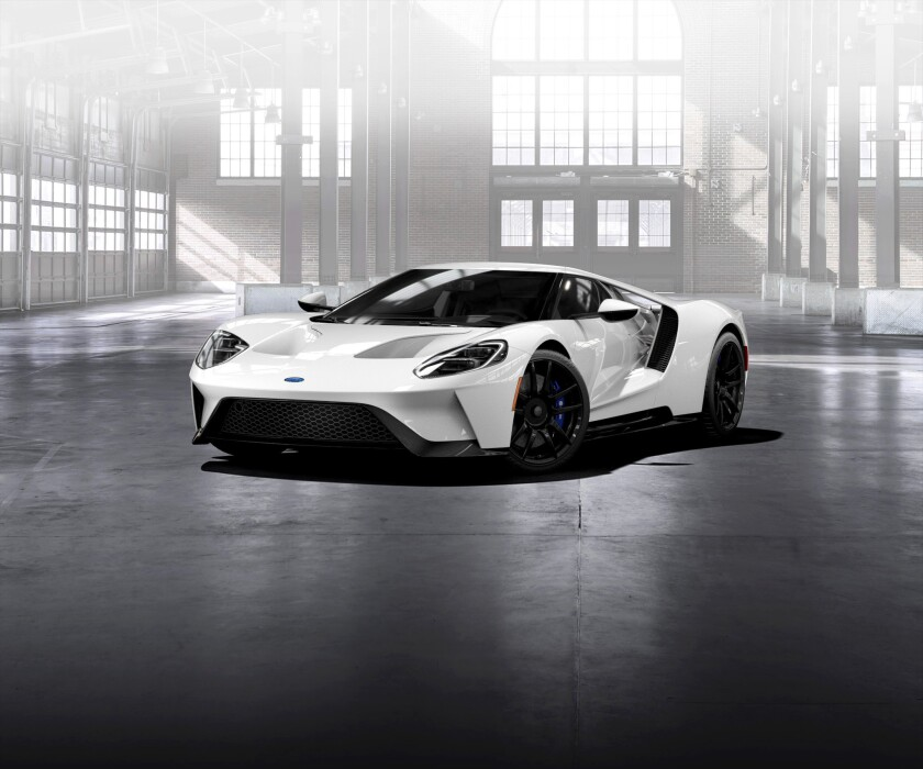 Ford has announced that it will take orders for a limited run of its GT Supercar. The street racer will start in the mid-$400,000s, Ford says. Only 250 will be built in the first year.