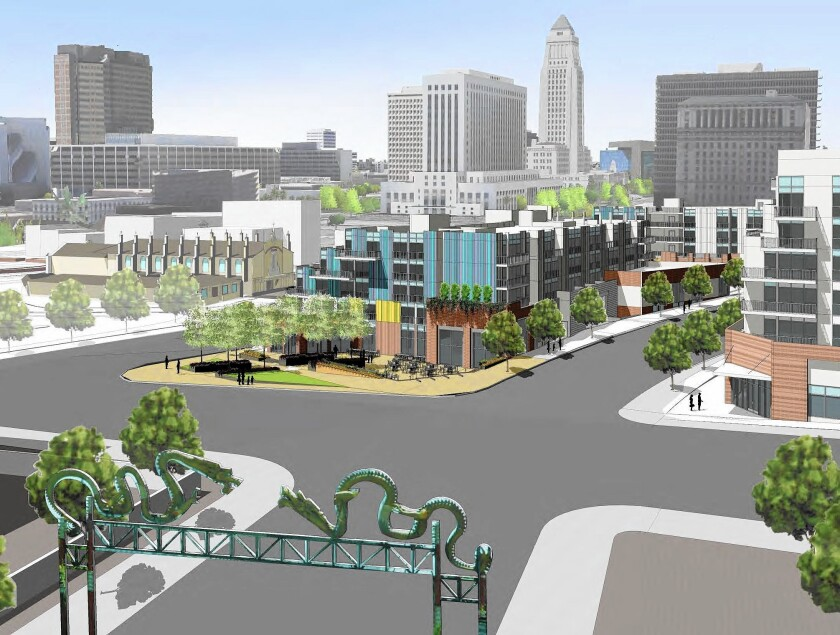 $135-million mixed-use development near Olvera Street is approved