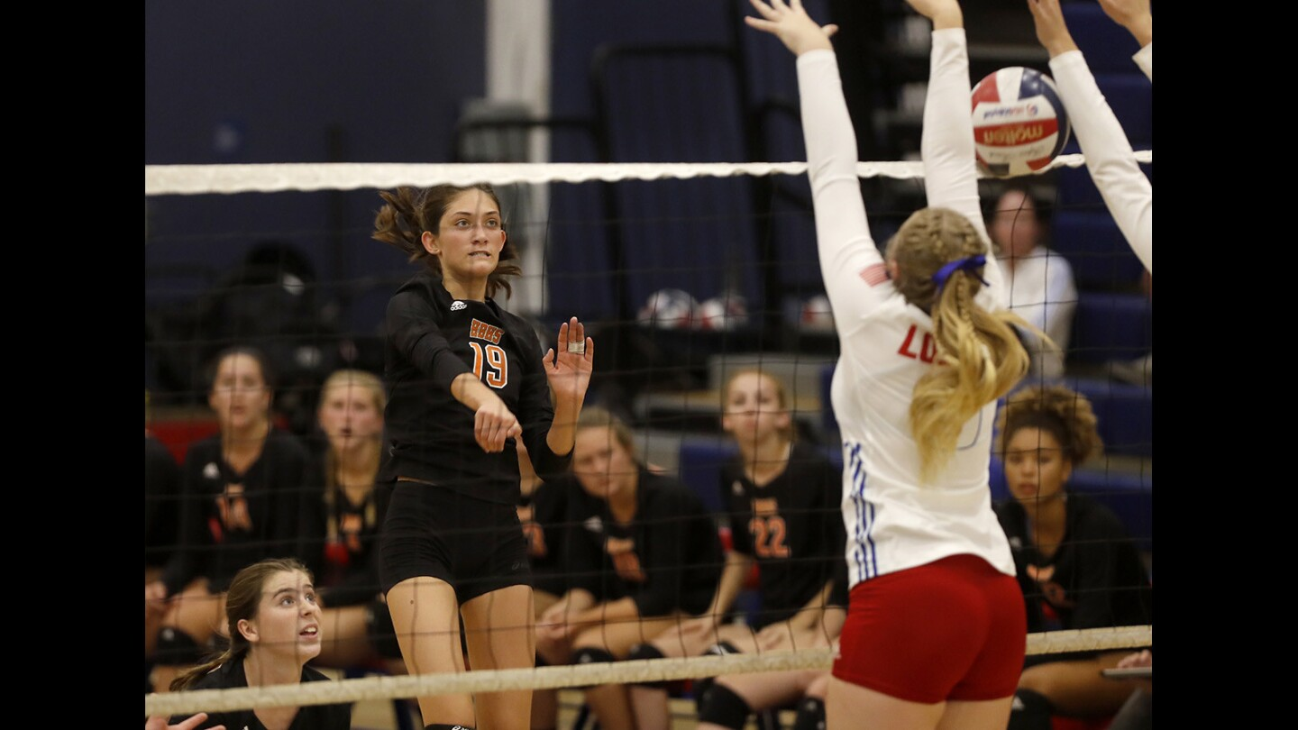 Photo gallery: Huntington Beach vs. Los Alamitos in girls' volleyball