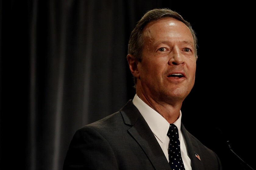 Former Maryland Gov. Martin O'Malley has run a by-the-books presidential campaign. But so far, the Democratic hopeful has won only meager support.