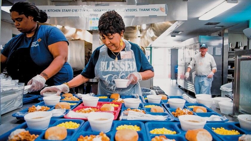 With only a few hours of their time each week or month, volunteers improve the lives of thousands of people who are homeless in San Diego. Interested in volunteering? Learn more at neighbor.org/volunteer