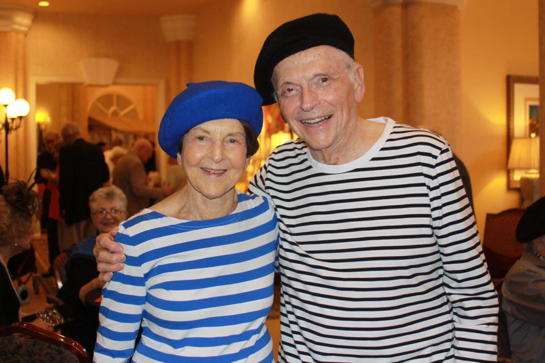 Nancy and Bill Dubey