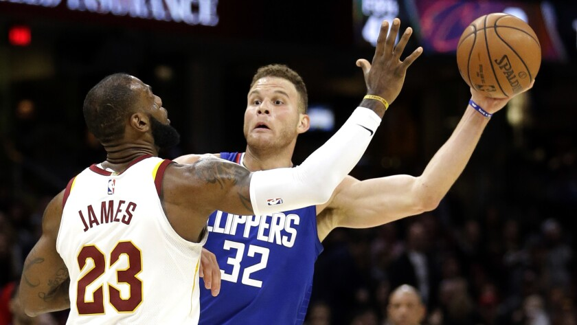 LeBron James, Blake Griffin