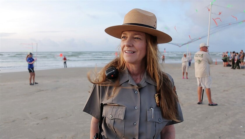 Donna Shaver is the chief of Sea Turtle Science and Recovery for the National Park Service at Padre Island.