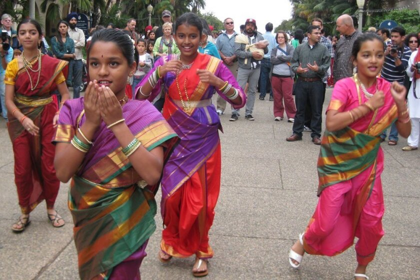 Traditional Indian dances and music will be part of the annual Festival of Lights at Balboa Park on Saturday, Oct. 26.
