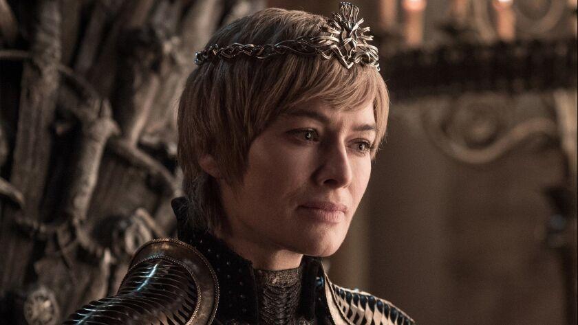 "Season 8: Lena Headey is Cersei Lannister in ""Game of Thrones."" photo: Helen Sloan/HBO"