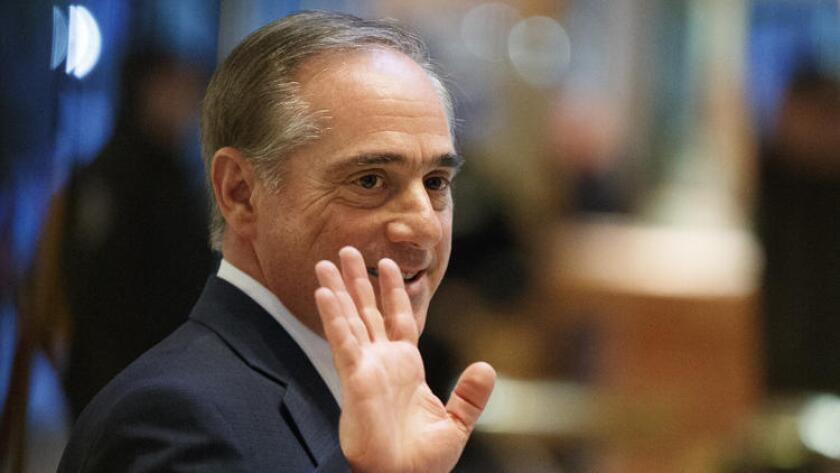 Dr. David Shulkin appeared before the Senate Veterans Affairs Committee on Wednesday as the nominee to run the U.S. Department of Veterans Affairs.