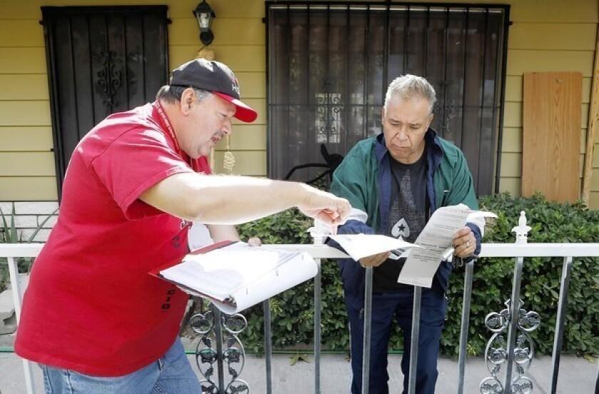 Nevada Senate race heats up, with Latino voters' help