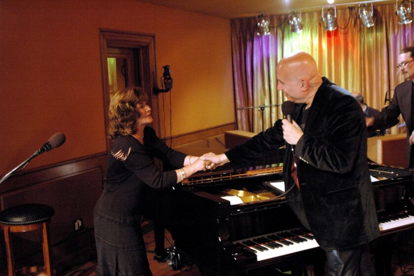 Flutist Lori Bell and pianist Mike Garson