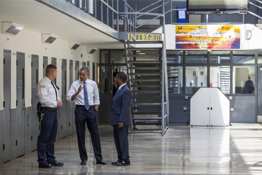 Barack Obama, Ronald Warlick, Charles Samuels